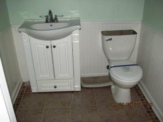 221 Sandridge Half Bathroom