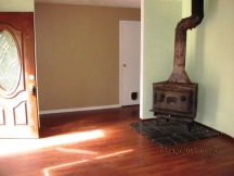 401 Becton Living Room