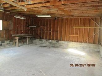 612 Watson Detached Garage Interior