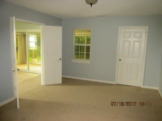 604 Courtyard Master Bedroom View 1