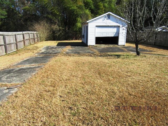 309 Church Rear Yard