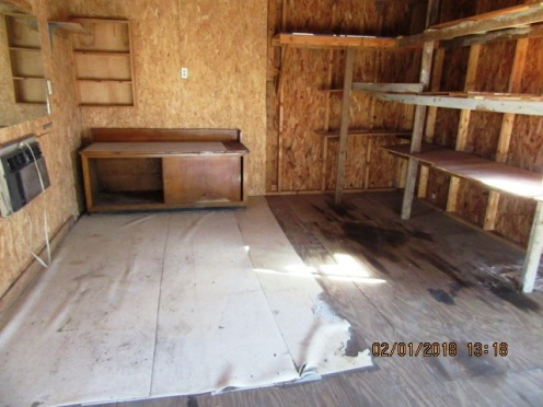 309 Church Shed Interior