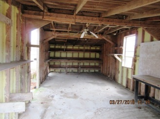 3223 Whortonsville Shed Interior